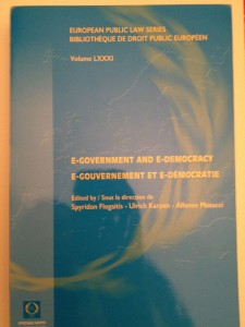 Book Cover: Promoting e-participation to qualify territorial e-government policies