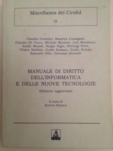 Book Cover: Il documento informatico amministrativo